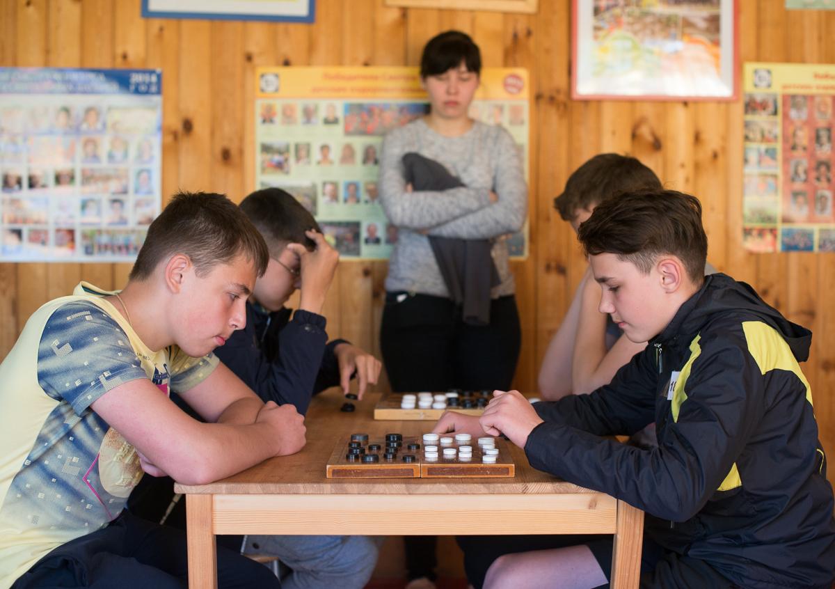 В Республике прошел турнир по шашкам!