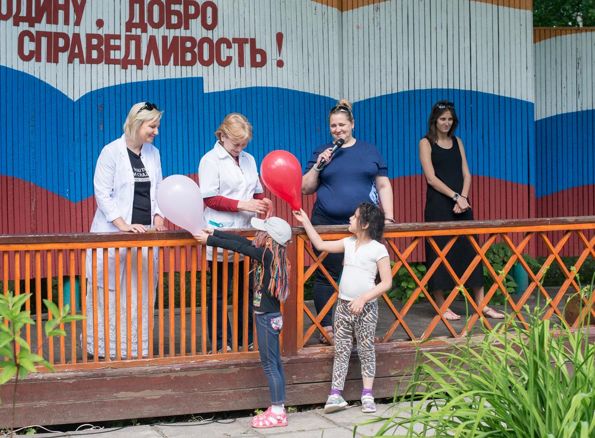 В ДРП прошла линейка, посвящённая Дню медика!