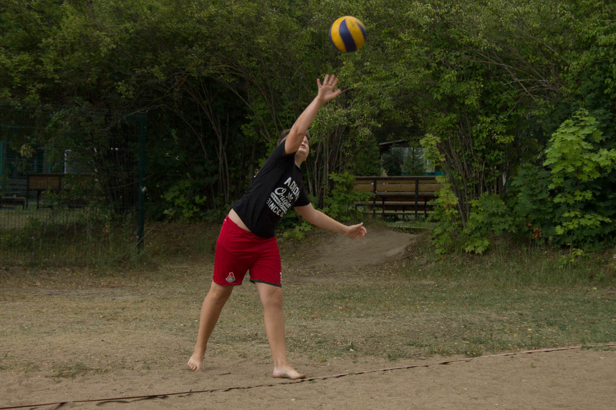 Турнир по пляжному волейболу в ДРП!