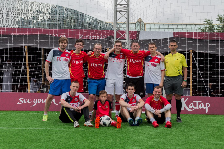 Футбол в Парке Горького!