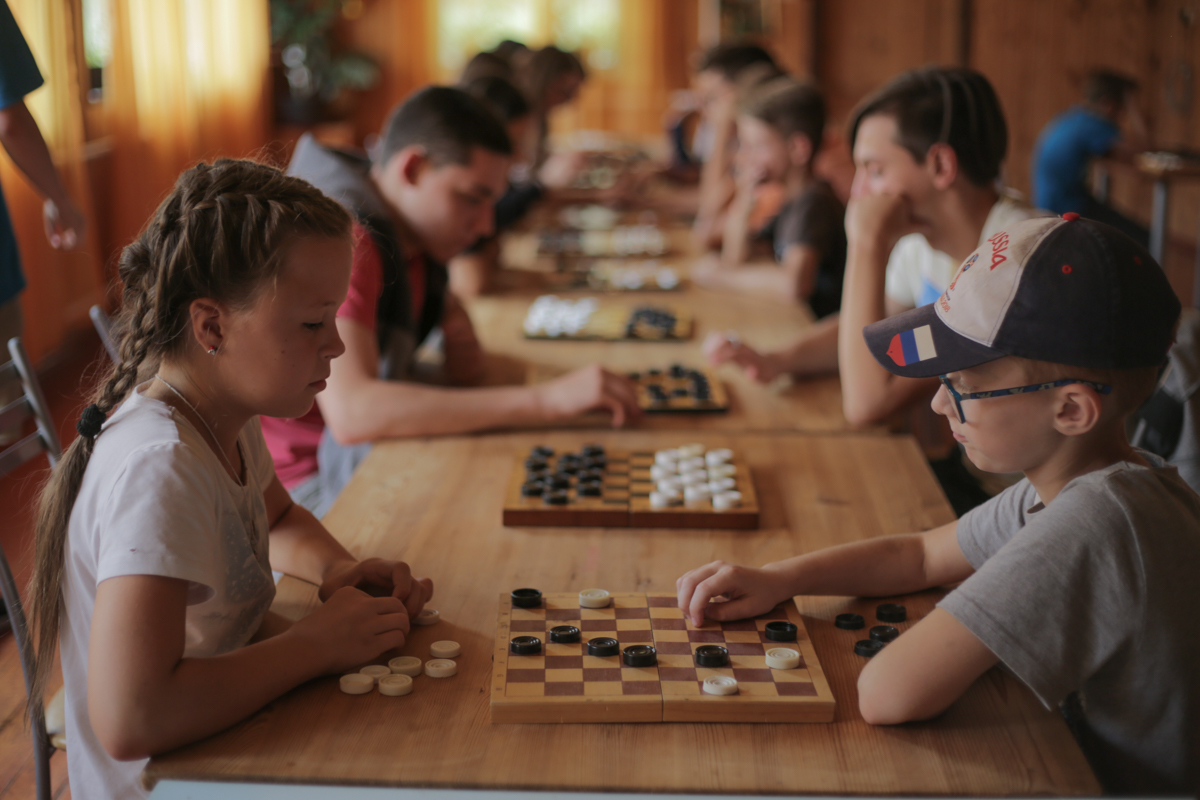 Турнир по шашкам в ДРП!