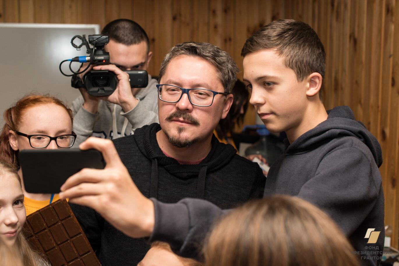 Встреча с известным журналистом Павлом Селиным