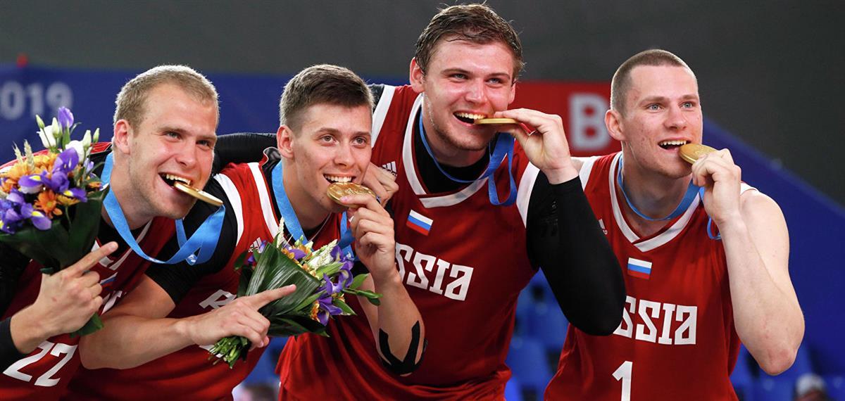 Победа сборной России по баскетболу
