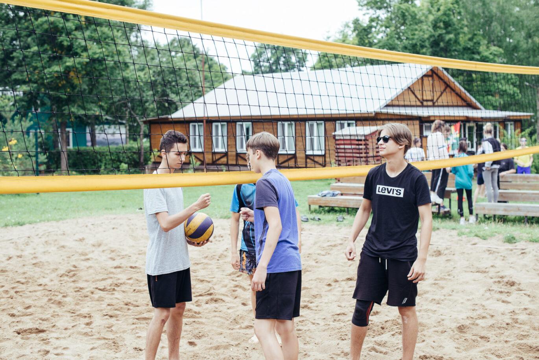 Cоревнования по пляжному волейболу в ДРП
